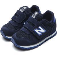 Tênis New Balance Menina K373 Azul-Marinho