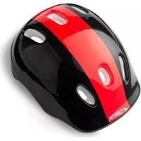 Kit Proteção Infantil Atrio Sports Skate Bike Patins - Unissex-Vermelho