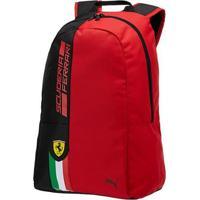 637579047 Netshoes; Mochila Puma Scuderia Ferrari Fanwear Vermelha - Masculino
