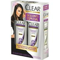 Kit Clear Hidratação Intensa Shampoo + Condicionador 200Ml - Unissex-Incolor