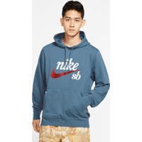 Blusão Nike Sb Washed Icon Unissex
