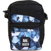 Bolsa Shoulder Cyclone Tropical - Unissex-Preto+Azul