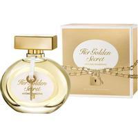 Her Golden Secret By Antonio Banderas Eau De Toilette Feminino 50 Ml