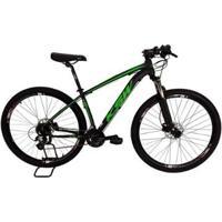 Bicicleta Mtb Alum 29 Ksw Shimano 27 Vel Freio Disco Hidráulica - Unissex
