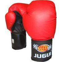 Luva De Boxe Muay Thai Combate Vermelha - Jugui