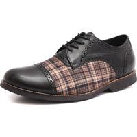Sapato Social Shoes Grand Vintage Preto