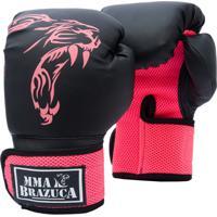 Luva Boxe Muaythai - Mma Brazuca - Pink 93f4336c06595