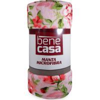 Manta Microfibra Queen - Bene Casa - Cristal