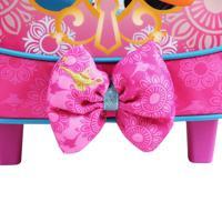 Mochila De Rodinhas Princesas Disney Jasmine   Cor: Pink