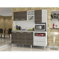 Cozinha Compacta Jade Sem Tampo Dubai/Rovere - Kits Paraná