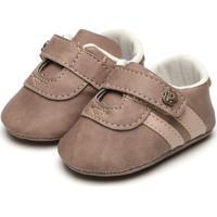 Sapato Pimpolho Menino Listras Marrom