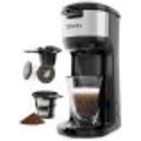 Sboly - Cafeteira De Porção Única Para K-Cup E Café Moído