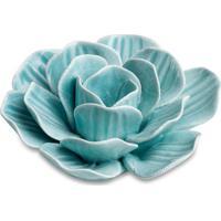 Planta Decorativa Flor Azul 4X8 Cm