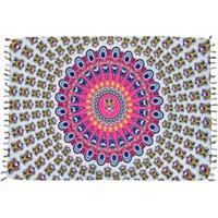 Canga Shopping Bali Mandala Mix - Feminino-Roxo+Preto
