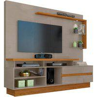 Home Theater Vicente Cinza/Naturale Madetec