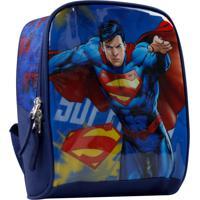 Lancheira Superman La31683Sm Azul