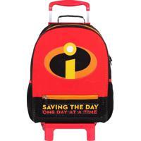 Mochila De Rodinhas Disney Pixar Os Incríveis Saving The Day