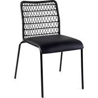 Cadeira Trama Slim Estofada Design By Studio Artesian