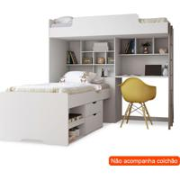 Beliche Multifuncional Office New I Branco