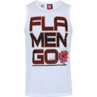 Camiseta Regata Do Flamengo Sigma - Masculina - Branco