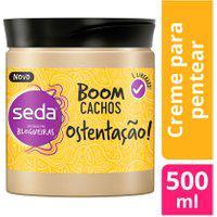 Creme De Pentear Seda Boom Crespos Ostentação 500Ml