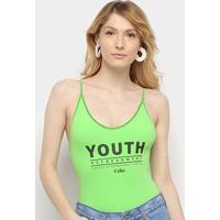 Body Coca-Cola Youth Refreshment - Feminino-Verde Escuro