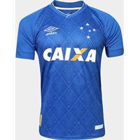 Camisa Cruzeiro I 17/18 S/Nº Torcedor Umbro Masculina - Masculino