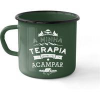 Caneca Esmaltada Camping Terapia 240Ml Uc0702 - Guepardo