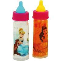 Conjunto Com 2 Mamadeiras Mágicas - Princesas Disney - Toyng - Feminino-Incolor