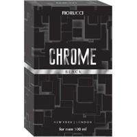 Chrome Black Fiorucci Perfume Masculino Deo Colônia 100Ml - Masculino