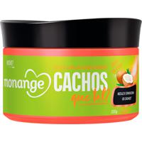 Geleia Capilar Condicionante Monange Cachos, Que Tal? 300Ml