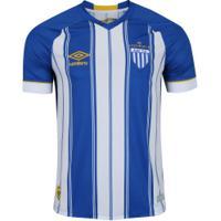 Camisa Do Avaí I 2018 Umbro - Masculina - Azul f307244df1dd6