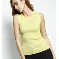Blusa Com Seda Em Tricô - Verde Claro - Versaceversace
