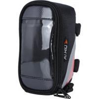 Bolsa Para Bicicleta Com Porta Celular Atrio Bi022 - Preto