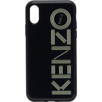 Kenzo Capa Para Iphone Xs Com Logo - Preto