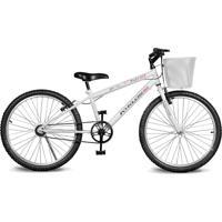 Bicicleta Kyklos Bikes Aro 24 Magie Sem Marchas Branca