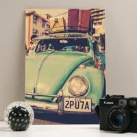 Placa Decorativa - Vintage Fusca