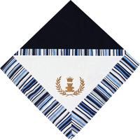 Manta De Bebê Padroeira Baby Império Azul Marinho..