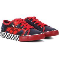 Tênis Infantil Disney Homem Aranha Masculino - Masculino-Azul+Vermelho
