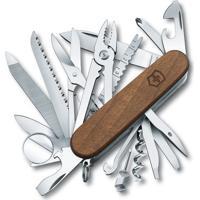 Canivete Swisschamp Com 32 Funã§Ãµes- Inox & Marrom- 9Victorinox