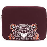 Kenzo Tiger Laptop Case - Vermelho