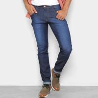 Calça Jeans Coffee Skinny Destroyed Masculina - Masculino-Jeans