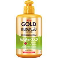 Creme Para Pentear Niely Gold Hidratação Milagrosa Água De Coco 280G - Unissex