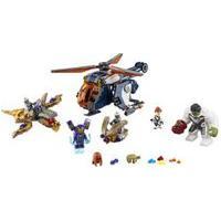 Lego Super Heroes Marvel - Resgate De Helicóptero Dos Vingadores Hulk Lego 76144