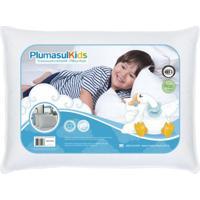 Travesseiro 50% Pluma 50% Fibra Siliconizada Em Flocos-Baby-30X40