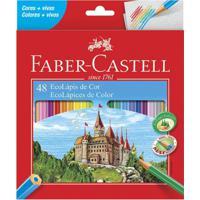 Lápis De Cor - Ecolápis - Sextavado - 48 Cores - Faber-Castell