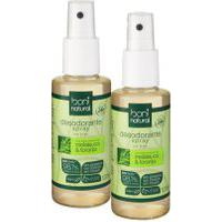 Kit 2 Desodorantes Spray Boni Natural Melaleuca E Toranja 120Ml