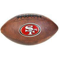 Bola De Futebol Americano Wilson Nfl San Francis Wtf1539Xbsf, Cor: Marrom/Vermelho, Tamanho: Único