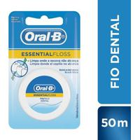 Fio Dental Oral-B Essential Floss Encerado 50M