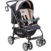 Carrinho De Bebê De 0 À 15Kg At6 K-Burigotto - Bege